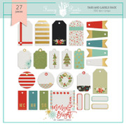 FPD Merry and Bright Tags and Labels