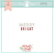 FPD Merry and Bright 2 Alphabet pack