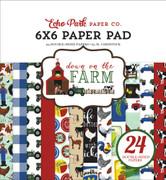 Down On The Farm 6x6 Paper Pad