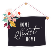 Home Sweet Home Board Print & Cut File