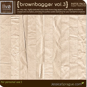 Brownbagger Paper Pack Vol.3 {Super-Textured Series}