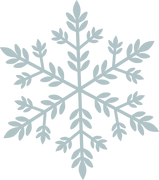 Merry & Bright Snowflake #1 SVG Cut File