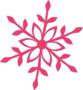 Merry & Bright Snowflake #2 SVG Cut File