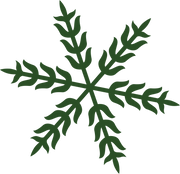 Merry & Bright Snowflake #3 SVG Cut File