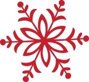 Merry & Bright Snowflake #5 SVG Cut File