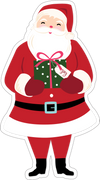 Santa Claus Print & Cut File