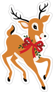 Reindeer Print & Cut File