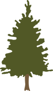 Christmas Pine Tree SVG Cut File