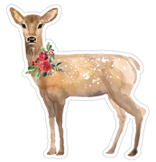 Christmas Deer Print & Cut File