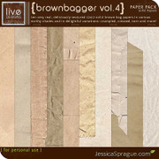 Brownbagger Paper Pack Vol. 4