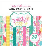 Let's Party 6x6 Paper Pad