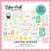 Easter Wishes Element Pack #3