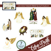 Oh Holy Night Print & Cut Files #1