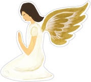 Angel Praying Print & Cut File