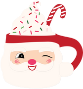 Santa Mug SVG Cut File