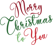 Merry Christmas To You SVG Cut File