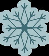 Let It Snow Snowflake #2 SVG Cut File