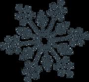 Let It Snow Snowflake #3 SVG Cut File