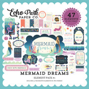 Mermaid Dreams Element Pack #1