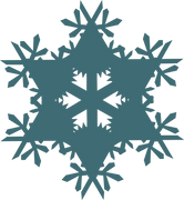 Let It Snow Snowflake #5 SVG Cut File