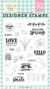 Spring is Here Stamp