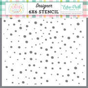 Speckled Egg Stencil