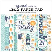 Hello Baby Boy 12x12 Paper Pad