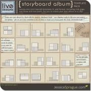 Storyboard Album Template Pack
