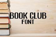 Book Club Font