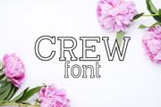 Crew Font