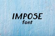 Impose Font