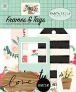 Flower Market Frames & Tags Ephemera