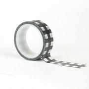 Black & White Buffalo Decorative Tape