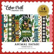 Animal Safari Paper Pack #2