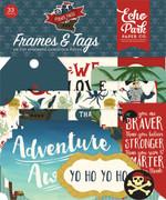 Pirate Tales Frames & Tags Ephemera