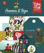 Animal Safari Frames & Tags Ephemera