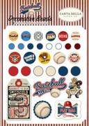 Baseball Decorative Brads