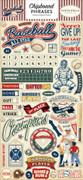 Baseball Chipboard Phrases