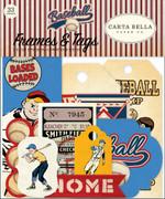 Baseball Frames & Tags Ephemera