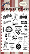 Baseball All Star Stamp Set