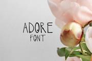 Adore Font