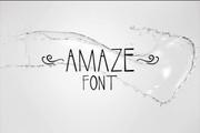 CG Amaze Font