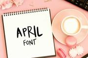 April Font