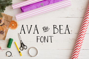Ava and Bea FONT