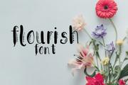 CG Flourish Font