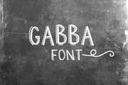 Gabba Font