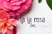 La La Rosa Font