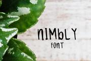 Nimbly Font