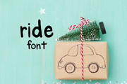 Ride Font