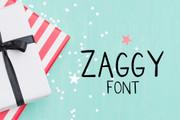 Zaggy Font
